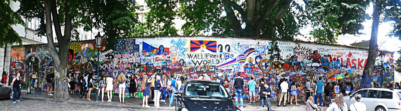 Praga Ściana Lenona