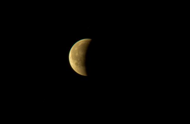 obserwacji całkowitego zaćmienia Księżyca